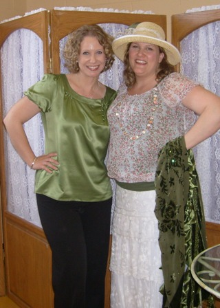 Tina Ann Forkner & Angela