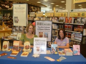 Tina Ann Forkner & Megan DiMaria at Barnes and Noble Loveland, Colorado