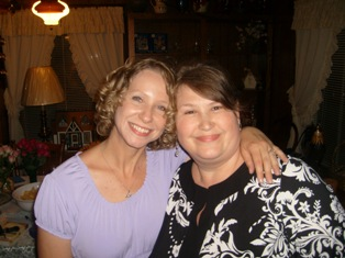 Tina Ann Forkner with her Awesome Publicist, Jeane Wynn.