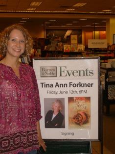 Tina Ann Forkner at Tulsa B&N