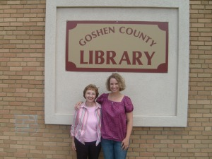 Goshen County Library_Tina Ann Forkner and MIL