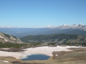 Cottonwood Pass near Crested Butte and Gunnison - T. Forkner 2009