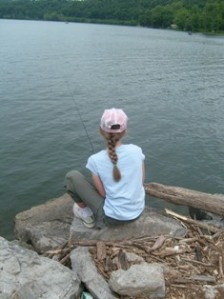 Fishing in Oklahoma - T. Forkner 2009