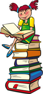 girl_sitting_on_pile_of_books_reading