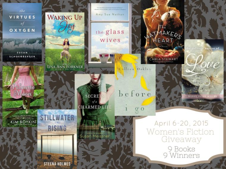 9 Womens Fiction Novel Giveaway