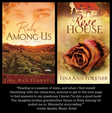 Ruby Among Us and Rose House, by Tina Ann Forkner