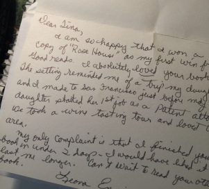 Letter from reader 2